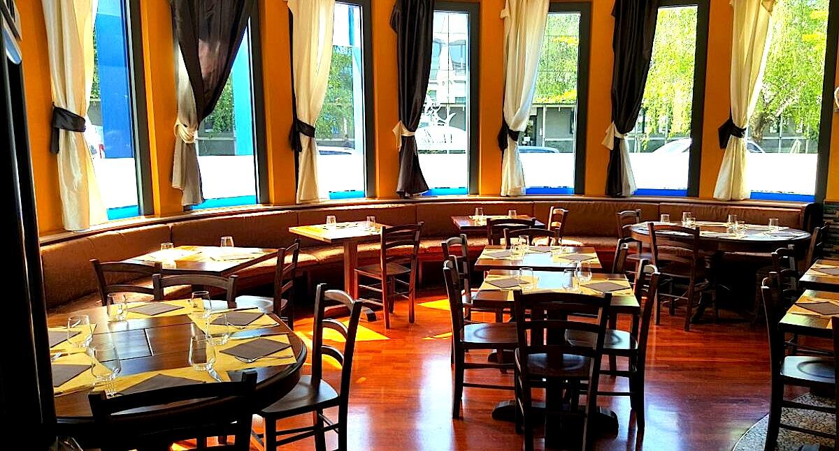 Fotografia interno del Ristorante Marlin Caffè a Saronno